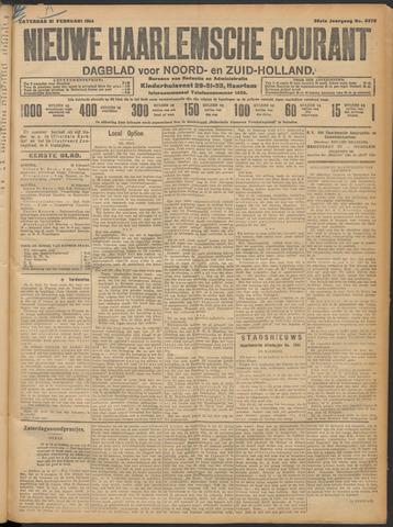 Nieuwe Haarlemsche Courant 1914-02-21