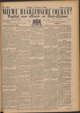 Nieuwe Haarlemsche Courant 1903-01-09