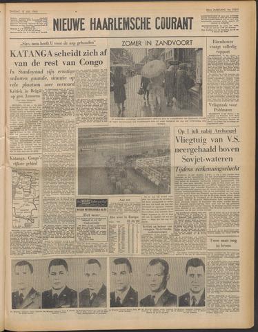 Nieuwe Haarlemsche Courant 1960-07-12
