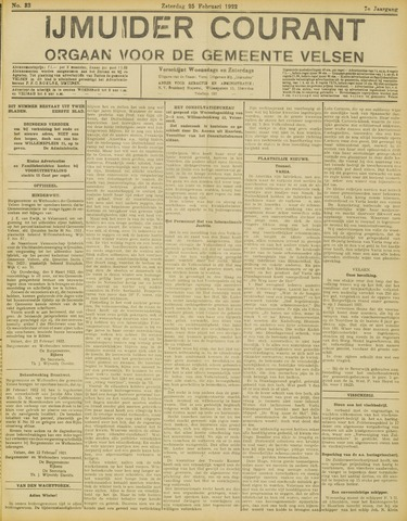 IJmuider Courant 1922-02-25
