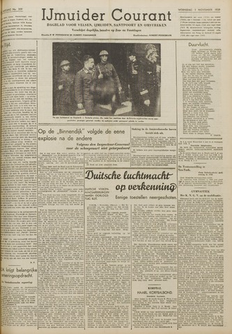 IJmuider Courant 1939-11-01