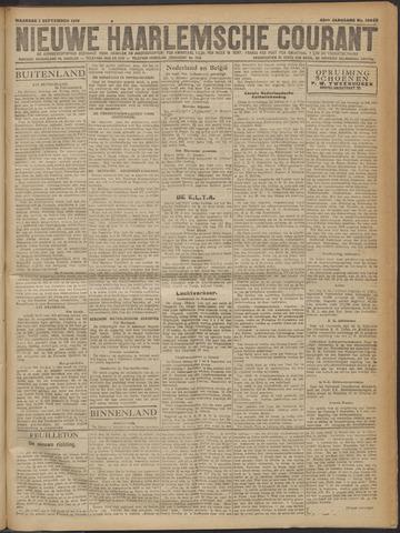 Nieuwe Haarlemsche Courant 1919-09-01