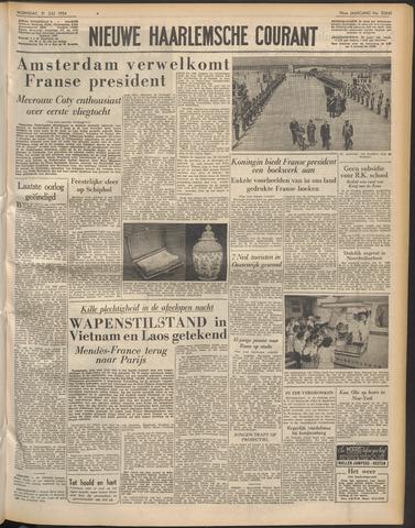 Nieuwe Haarlemsche Courant 1954-07-21
