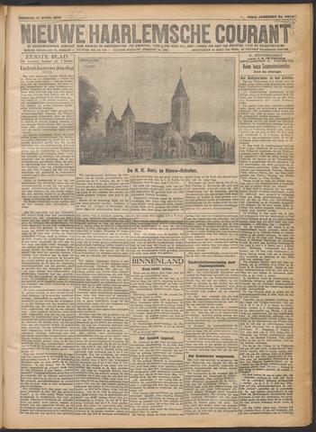 Nieuwe Haarlemsche Courant 1920-04-27