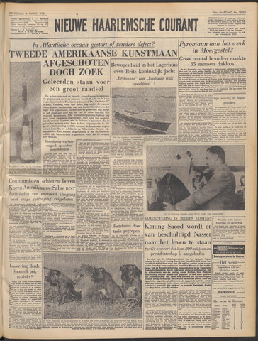 Nieuwe Haarlemsche Courant 1958-03-06