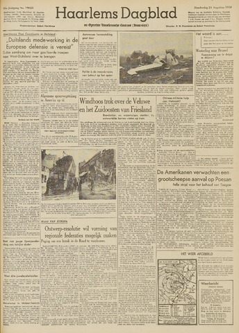 Haarlem's Dagblad 1950-08-24