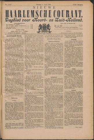 Nieuwe Haarlemsche Courant 1899-04-11