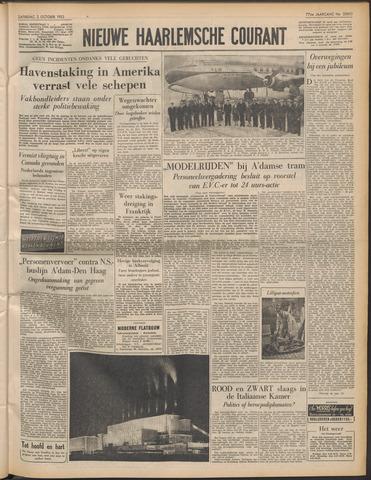 Nieuwe Haarlemsche Courant 1953-10-03