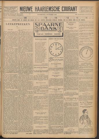 Nieuwe Haarlemsche Courant 1930-10-04