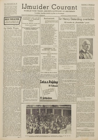 IJmuider Courant 1939-02-06