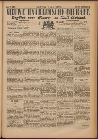 Nieuwe Haarlemsche Courant 1906-06-07