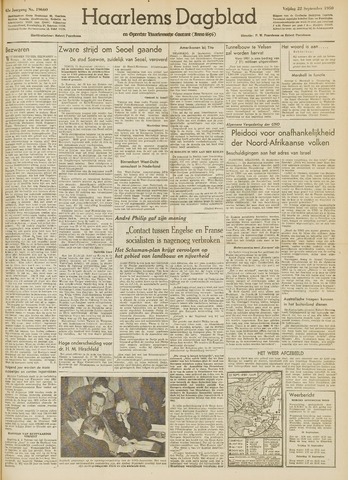 Haarlem's Dagblad 1950-09-22