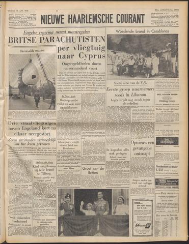 Nieuwe Haarlemsche Courant 1958-06-13