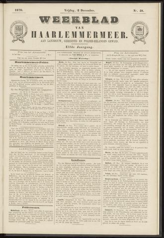 Weekblad van Haarlemmermeer 1870-12-02