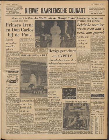 Nieuwe Haarlemsche Courant 1964-04-07