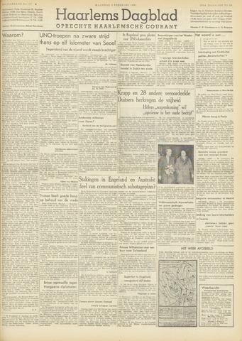 Haarlem's Dagblad 1951-02-05