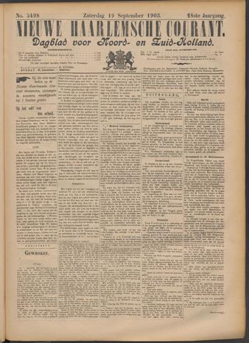 Nieuwe Haarlemsche Courant 1903-09-19