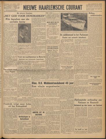 Nieuwe Haarlemsche Courant 1947-04-22