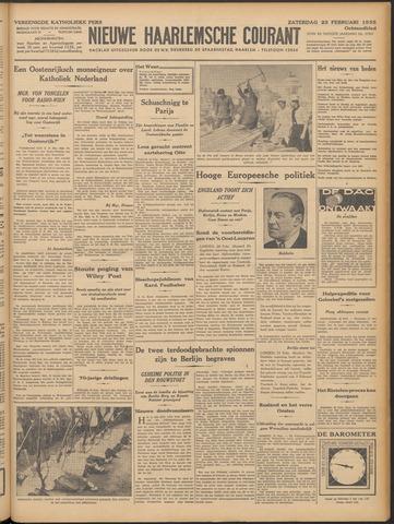 Nieuwe Haarlemsche Courant 1935-02-23