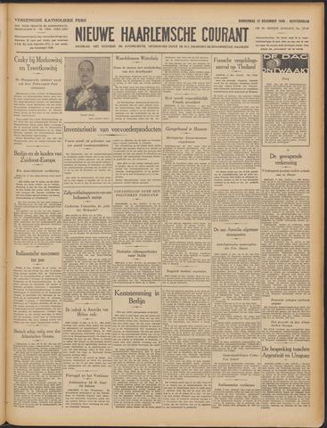 Nieuwe Haarlemsche Courant 1940-12-12