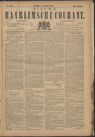 Nieuwe Haarlemsche Courant 1893-02-15