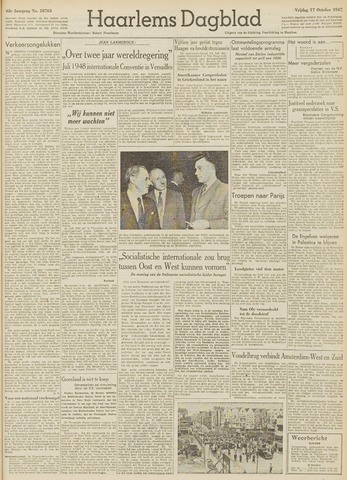 Haarlem's Dagblad 1947-10-17