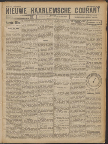 Nieuwe Haarlemsche Courant 1921-11-21