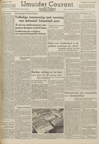 IJmuider Courant 1948-10-27