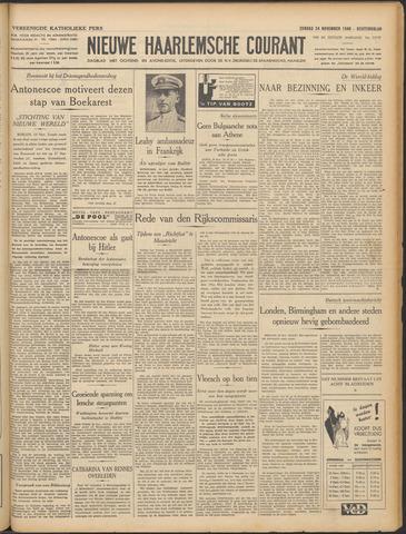 Nieuwe Haarlemsche Courant 1940-11-24