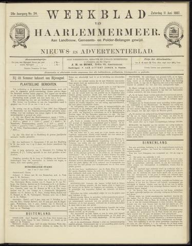 Weekblad van Haarlemmermeer 1887-06-11