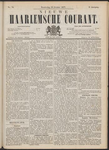 Nieuwe Haarlemsche Courant 1877-10-18