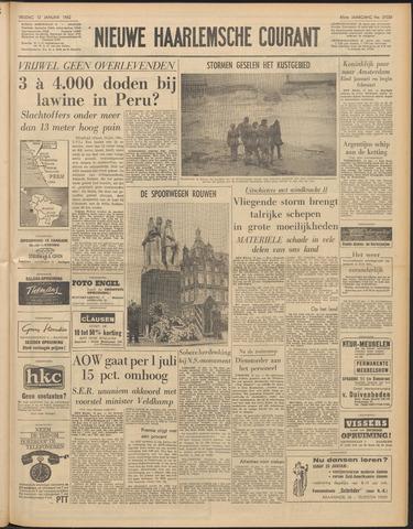 Nieuwe Haarlemsche Courant 1962-01-12