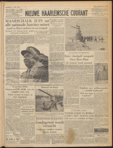 Nieuwe Haarlemsche Courant 1954-04-01
