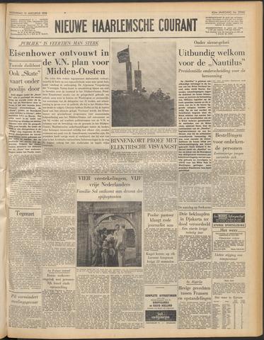 Nieuwe Haarlemsche Courant 1958-08-13