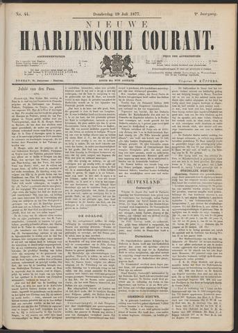 Nieuwe Haarlemsche Courant 1877-07-19