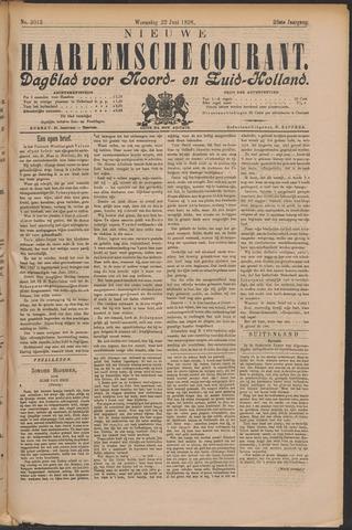 Nieuwe Haarlemsche Courant 1898-06-22