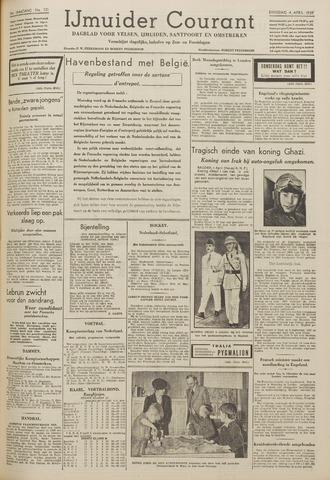 IJmuider Courant 1939-04-04
