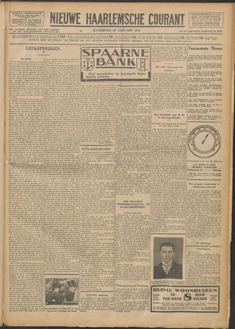 Nieuwe Haarlemsche Courant 1928-01-28