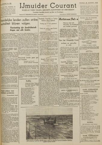 IJmuider Courant 1939-10-20