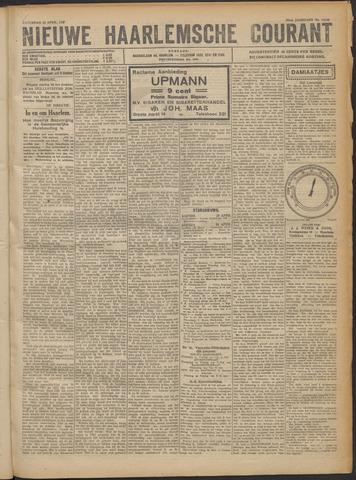 Nieuwe Haarlemsche Courant 1922-04-22