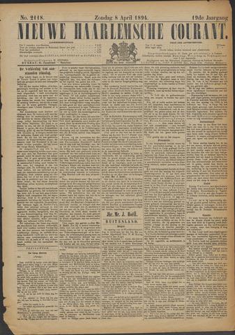 Nieuwe Haarlemsche Courant 1894-04-08