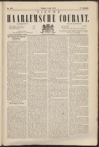 Nieuwe Haarlemsche Courant 1884-06-08