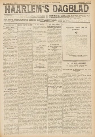 Haarlem's Dagblad 1926-07-07