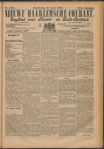 Nieuwe Haarlemsche Courant 1906-04-26
