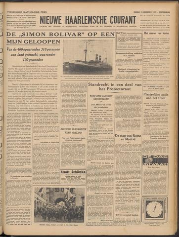 Nieuwe Haarlemsche Courant 1939-11-19