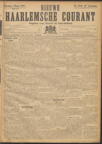 Nieuwe Haarlemsche Courant 1907-03-05