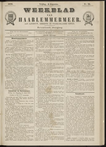 Weekblad van Haarlemmermeer 1876-08-04