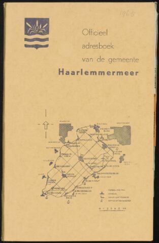 Adresboeken Haarlemmermeer 1965