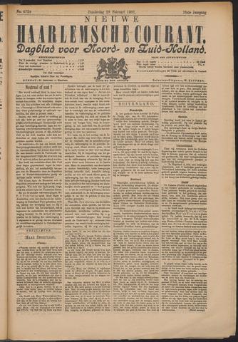 Nieuwe Haarlemsche Courant 1901-02-28