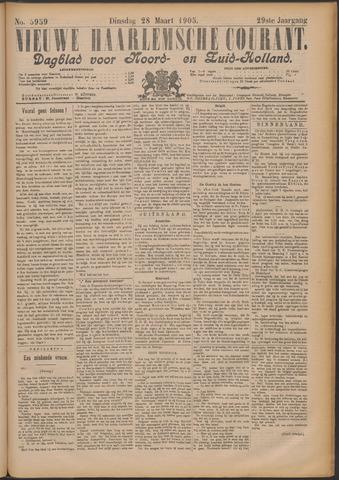 Nieuwe Haarlemsche Courant 1905-03-28